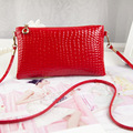 2016 new Fashion women messenger bags famous brand handbag leather lady shoulder bag clutches diagonal mochila red wallets mini