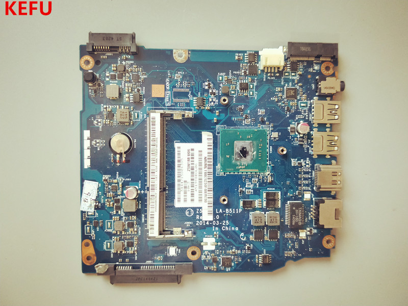 KEFU laptop motherboard FOR ACER ES1 511 NBMML11002 Z5W1M LA B511P WITH CPU DDR3 Working well
