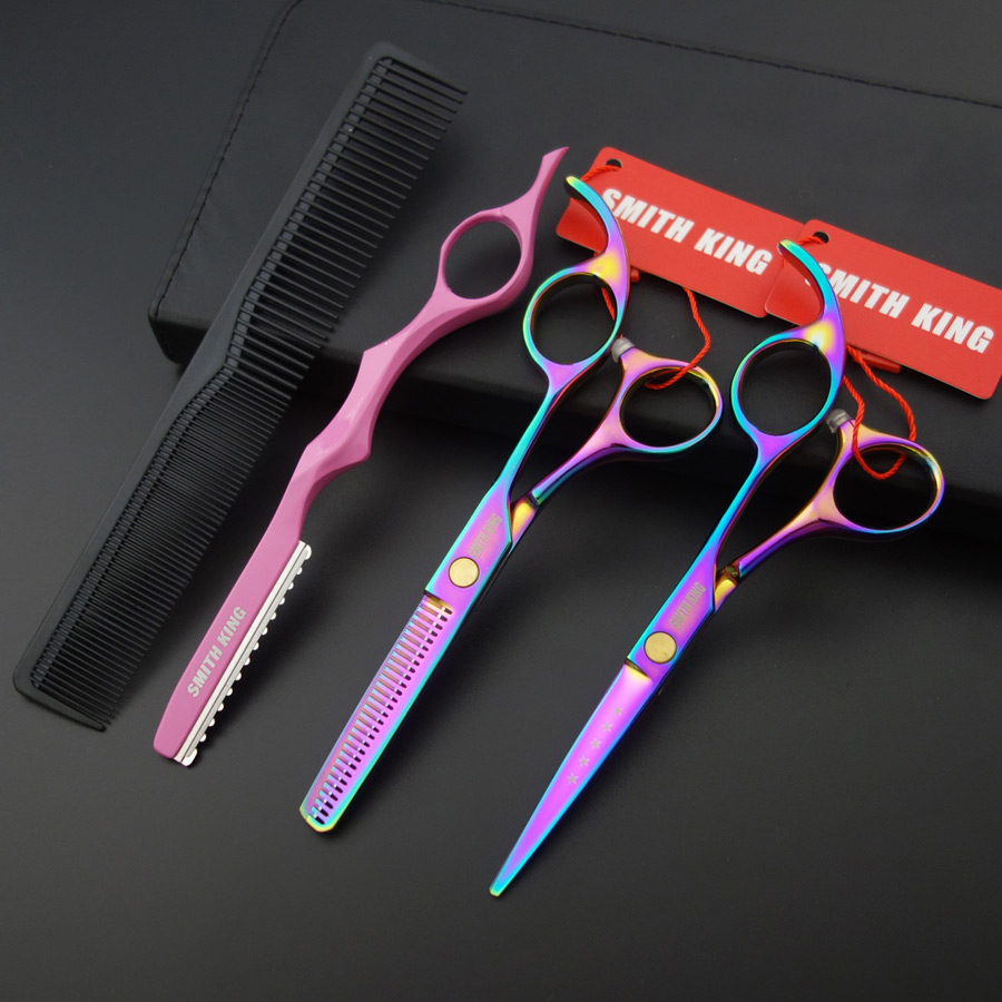 5.5 Inch Professional Hair Dressing Scissors/shears,cutting Scissors/thinning Scissors&razor&thinning Comb High Quality S028 Hair Care & Styling