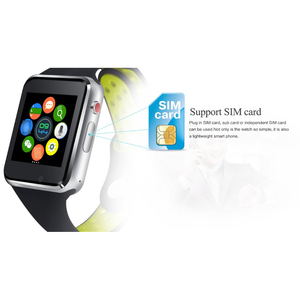 Image 5 - Bluetooth Smart Watch M3 With Camera Facebook Whatsapp Twitter Sync SMS Smartwatch Support SIM TF Card For IOS Android