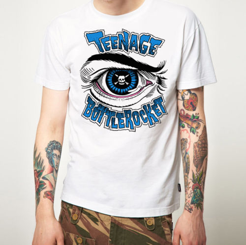 Graphic Shirts O-Neck Men Teenage Bottlerocket T Shirt New Merchandise (Punk Rock) Funny Short Sleeve T Shirt
