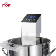 ITOP TSV-150 Sous Vide Immersion Circulator Slow Cooker Machine 110V 220V European Plug itop 220v sous vide precision cooker immersion pod with digital lcd display 1100w stainless steel powerful operation quiet