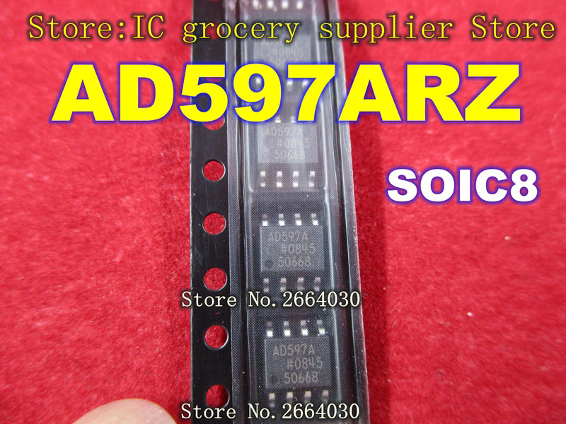 Livraison Gratuite 10 pièces AD597ARZ AD597AR AD597A AD597 SOP8-in Pièces de rechange et accessoires from Electronique    1