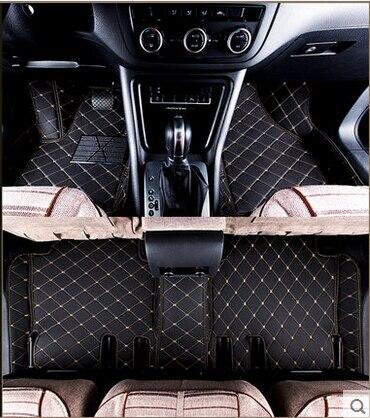 Best quality! Custom special floor mats for Skoda Octavia Sedan 2017 waterproof carpets rugs for Octavia 2018-2013,Free shipping