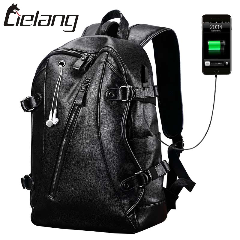 ФОТО 2016 New LIELANG Brand External USB Charge Backpack Men Anti-Theft Computer Bag 14 Inch Waterproof Laptop Luxury Backpacks