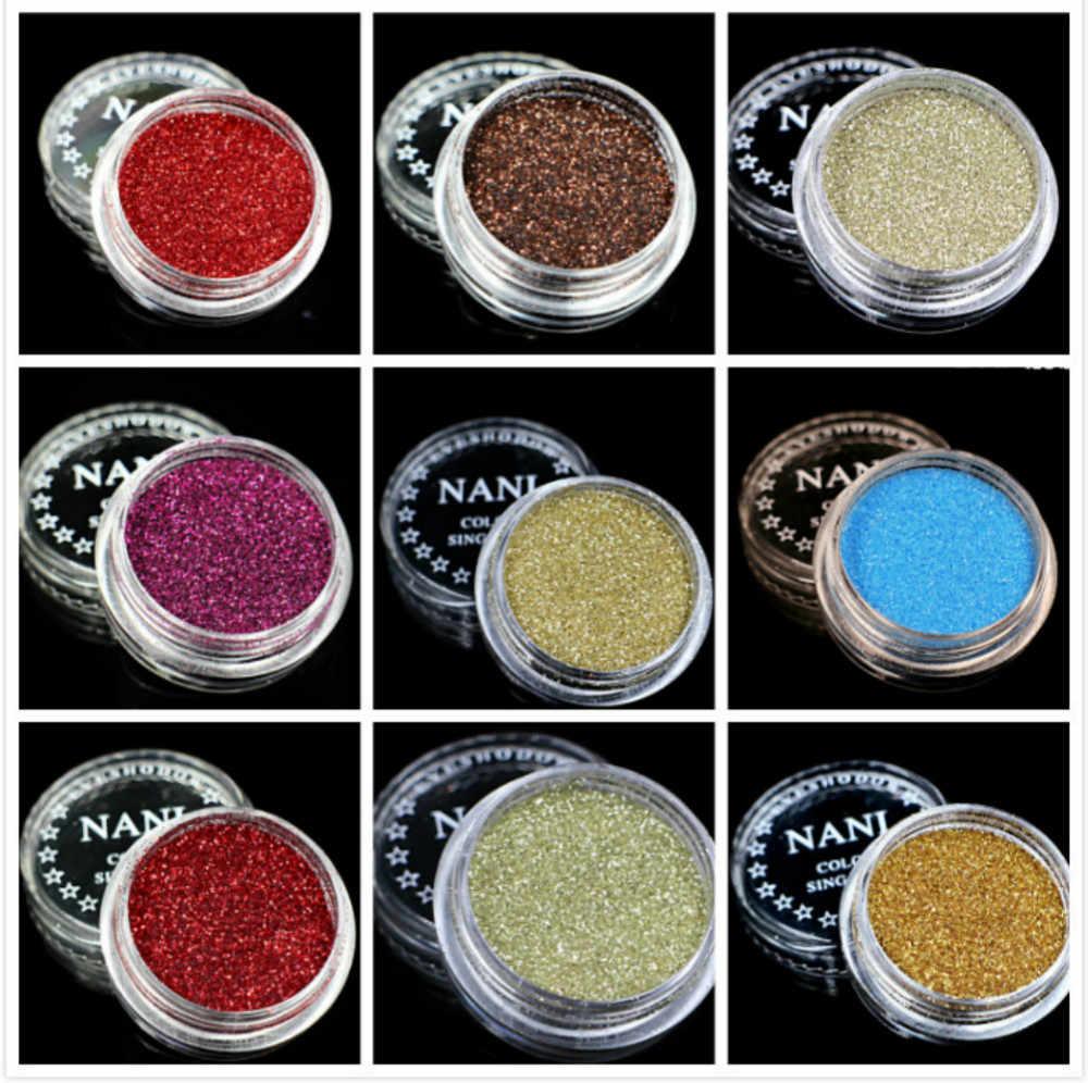 1 Kotak Merah Coklat 23 Warna Glitter Eyeshadow Bubuk Pigmen Mineral Spangle Halus Makeup Kosmetik Set Tahan Air Tahan Lama