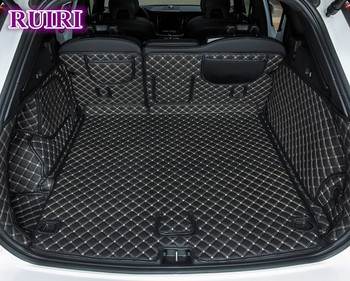 Best quality! Special car trunk mats for New Volvo XC60 2018 waterproof cargo liner mat boot carpets for XC60 2019,Free shipping