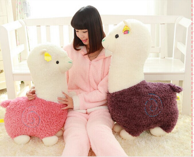 large 70 cm lovely Alpaca plush toy, throw pillow, birthday gift p2978 купить