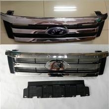 CAR STYLING 2012-2014 RANGER T6 TXL PICKUP TRUCK FRONT GRILL GRILLE RANGER T6 TXL 2012-2014 FRONT GRILL CHROMED
