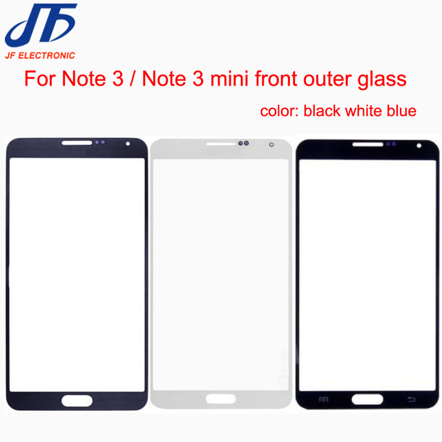 US $102 0 |Replacement For Samsung Galaxy Note 3 N900 N9005 N900A / Note3  Lite Neo mini N750 N7505 Front Outer Glass Lens Panel 100pcs-in Mobile  Phone