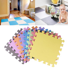 5pcs/set Baby EVA Foam Puzzle Play Mat /kids Rugs Toys carpet for childrens Interlocking Exercise Floor Tiles,Each:30cmX30cm(China)