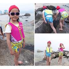 Профессиональный Спасательный Жилет для плавания, детский съемный портативный дышащий неопреновый жилет для безопасности, спортивный жилет для выживания