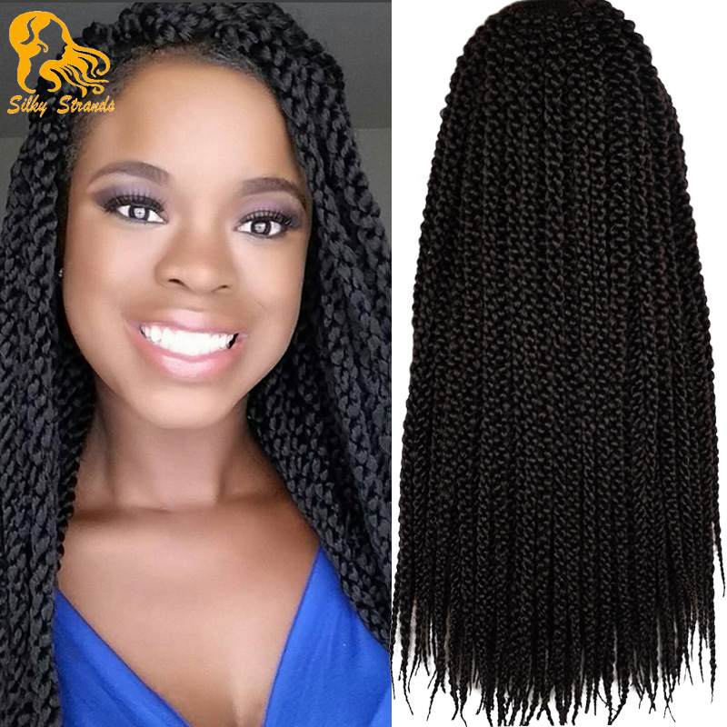 12 18 Inch Cubic Twist Crochet Braids Hair Extensions Ombre