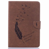 leather flip For Apple Ipad Mini 7.9 Cases High quality PU Leather Flip Stand Feather Pattern Case For iPad Mini 2 3 4 Cover Funda Skin She (3)