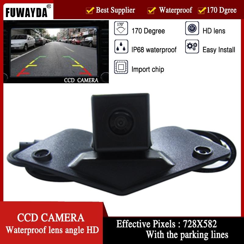FUWAYDA car CCD car Logo mark front view side font b Camera b font for Benz
