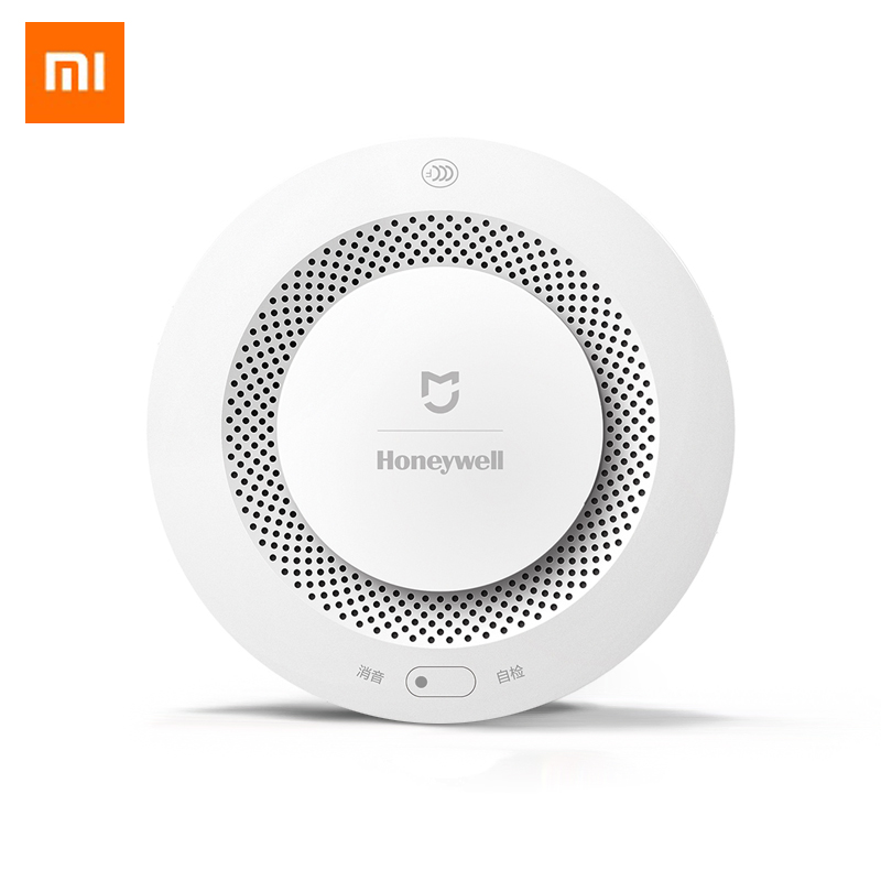 Xiaomi Mijia Smoke Detector Fire Alarm Audible Remote Control Smart Gas Detector Audible ...