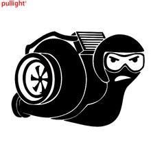 Turbo Snail Intercooler Fashion Vinyl Motorcycle Car Sticker