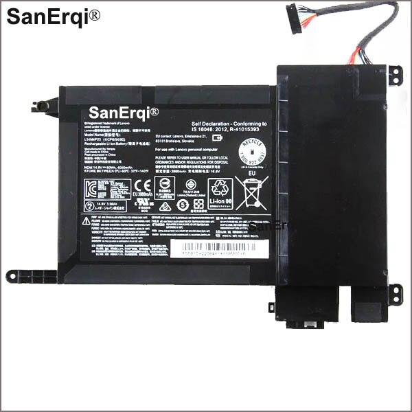 14.8 V 60WH 4050 mAh nouvelle L14M4P23 L14S4P22 batterie d'ordinateur portable Pour Lenovo IdeaPad Y700 Batterie