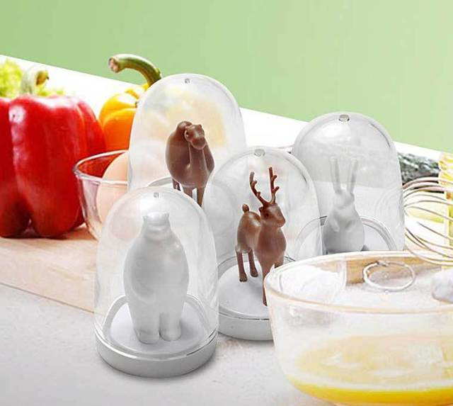 Free shipping Bunny/ Deer/ Camel/ Bear Animal Parade Seasoning Shaker Spice and pepper shaker