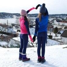 100% Merino wol thermische kids sport ondergoed set super Zachte winter jongens meisjes kinderen lange onderbroek