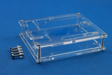 Free Shipping One Set Transparent Box Case Shell for Arduino UNO R3