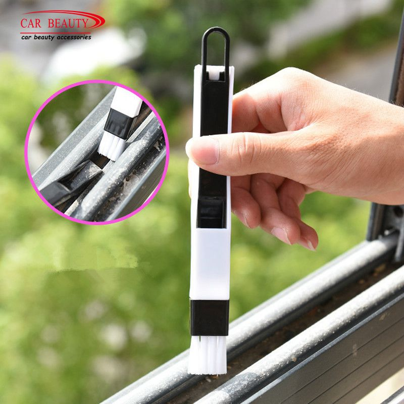Car Cleaning Brush Multipurpose Window Door Keyboard Auto Air Conditioner Vent Outlet Cleaning Brush Car Meter Detail Cleaner