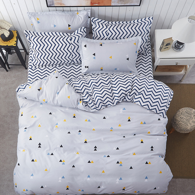 new spring bedding sets sweetheart style creativity space duvet cover set quilt cover bed sheet pillowcase - Space Bedding