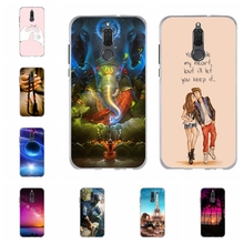 For Huawei Mate 10 Lite Maimang 6 Case Soft Silicone Honor 9i Cover Cartoon Patterned Nova 2i G10 Coque