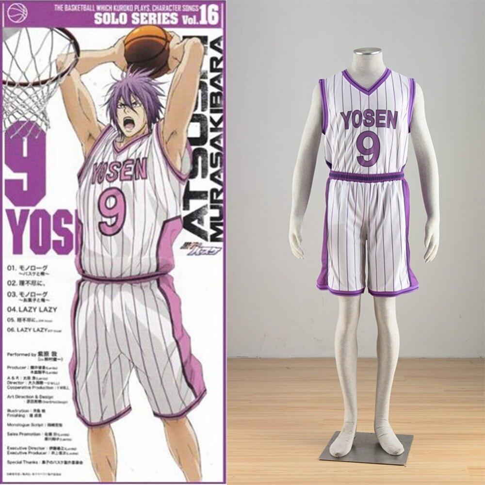 Athemis New Kuroko No Basketball Yosen Basket Ball Team