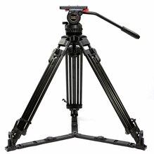 TERIS V18T Carbon Fiber Heavy Responsibility Skilled Tripod Legs With 100mm Bowl Fluid Head For RED C300 BMCC Video Digicam Tilta Rig
