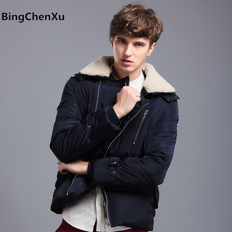 Wadded coat casual brand fashion winter jacket men padded hooded parkas mens down jacket thickening outerwear jackets coat 436 hot sale 2015 new winter mens jacket and coats fashion men coat hoodies wadded military thickening casual outwear h4573