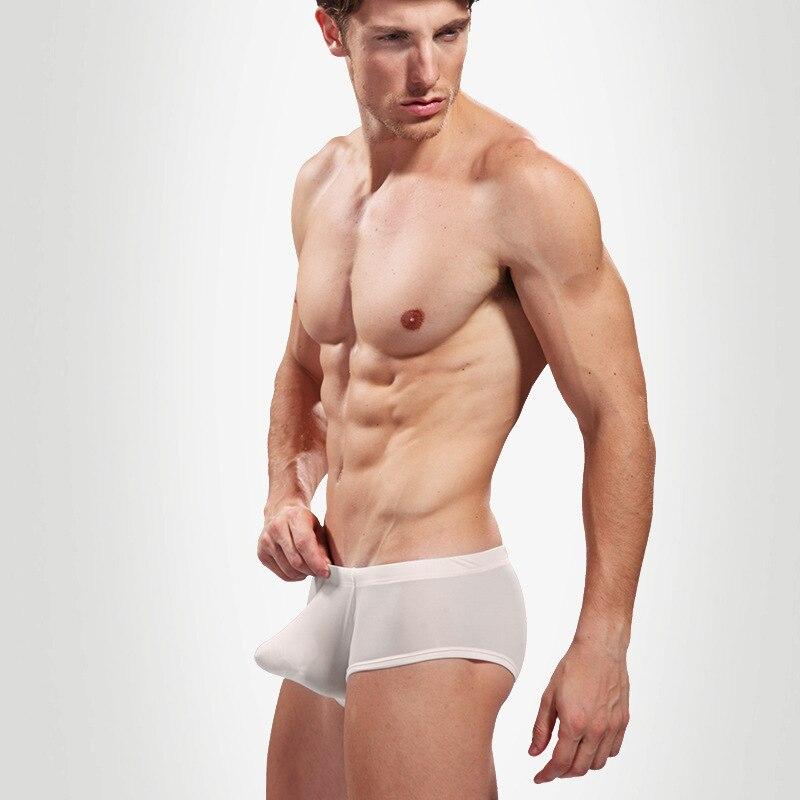 Aliexpress.com : Buy Bandashi men's silk underwear boxers Mens ...