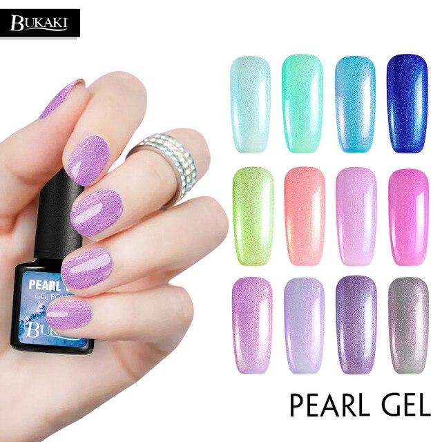 Bukaki Gel Polish Parel Kleur Gel Nagellak Nail Art Salon Uv Zee