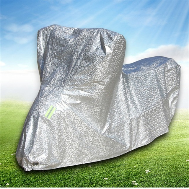 Motorcycle Cover Waterproof Outdoor Motorbike Dustproof UV Protective Cover XXL 220CM Motorcycle Accessories Motor Scooter Cover