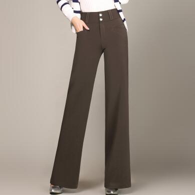 Taille marron vert Brun Occasionnel Femelle Mode Longueur Haute Pleine Plus Noir Jambe bourgogne Pantalon La Ol Nouveau Noir Vert Bleu bleu Femmes Hdl0817 Large 7SwS1nxzqA