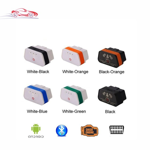 Promotion!! 2017 Newest 100%Original Vgate iCar2 Bluetooth OBD Scanner iCar 2 ELM327 Bluetooth Diagnostic Interface Code Scanner