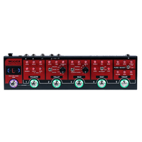 MOOER Red Truck Modulation Delay Reverb Distortion Overdrive Boost Modules Effect Pedal 4 Cable Methodconnection