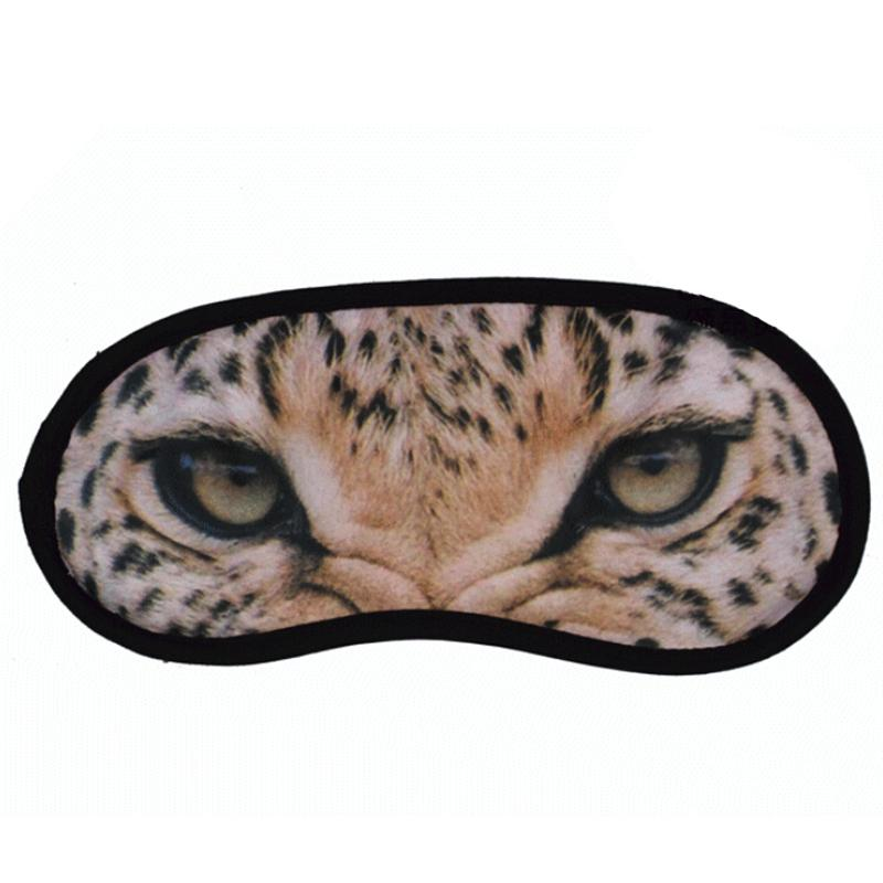 1 Pcs 3d Print Eyeshade Covers Travel Sleeping Eye Mask Sleep Aid Cover Blindfold Eye Mask Party Mask Good For Energy And The Spleen Magnetic Therapy Devices Natural & Alternative Remedies