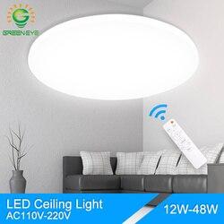 Green Eye Modern ceiling lights AC 110V 220V led ceiling light lamparas de techo led lamp Living Room Bedroom Remote Control