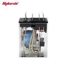 цена на HHC68B-4Z Intermediate Solid State Relay HH54P AC220V AC110V DC24V 12 V Small Magnetic MY4N - J 14 Feet