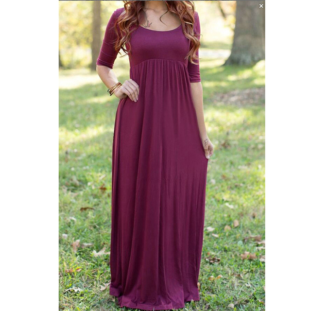 Belva 2017 Maternity Wine Gown Dress Photography Breastfeeding Pregnant  Clothes Baby Shower Dresses For Photo Shoot