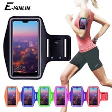 Running Gym Cycling Sport Workout Phone holder Bag Cover For HuaWei P30 P20 Pro P10 P9 Plus P8 Lite Mini GR5 2017 Arm Band Case(China)