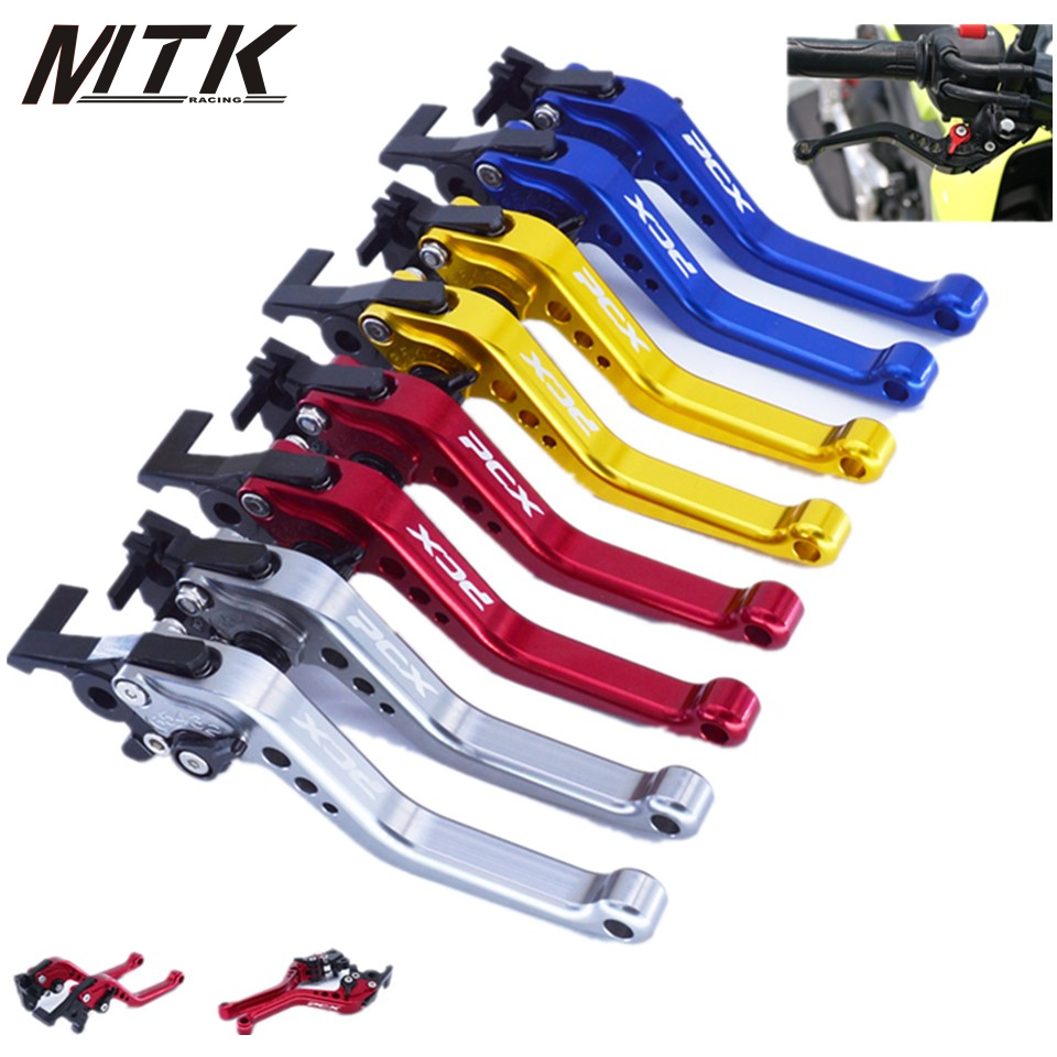 MTKRACING short Clutch Brake Levers For Honda PCX 125/150 All years CNC Short 14.5cm CNC Aluminum fits komatsu pc220 1 bucket cylinder repair seal kit excavator service gasket 3 month warranty