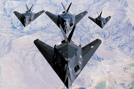 DIY frame USA military ir Force Lockheed F 117 Nighthawk Poster Home Decoration Printing Silk Wall Poster Picture
