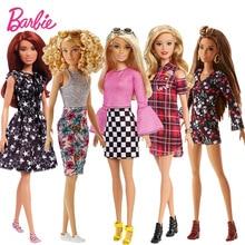 Barbie Original fashionistas Move Set Sport Joints Girl Doll Toys Birthdays Gifts For Kids Boneca toys for children