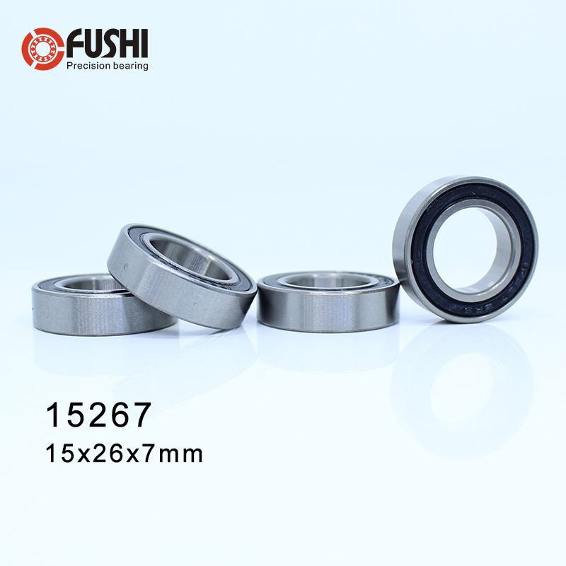 15267-2RS Bearing (4 Pcs) 15*26*7 mm Bicycle Axle 15267 - 2RS Bearings Used For FSA MegaExo Light In
