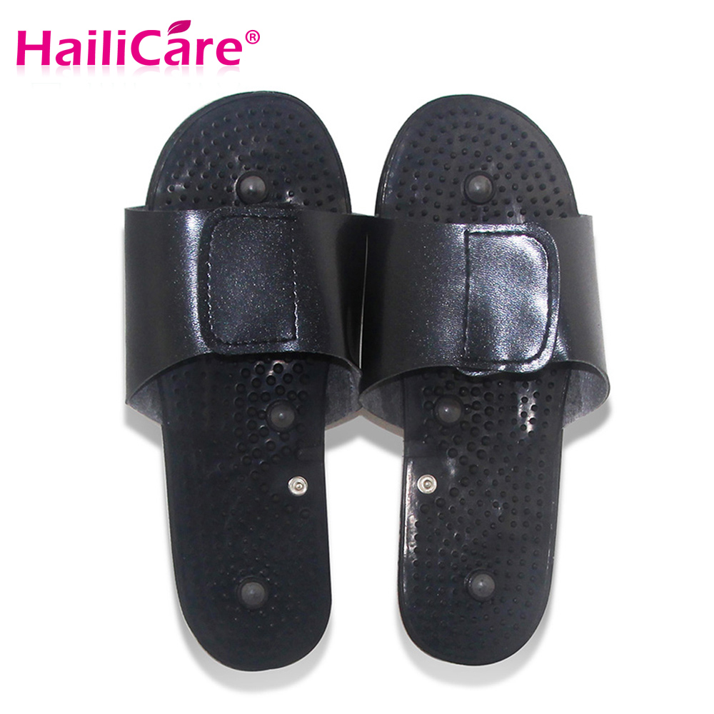 Health Care! Pulse tens Acupuncture therapy slipper accessory for JR309 Electrical Stimulator Full Body Relax Muscle Massager electrical stimulator health care full body relax muscle therapy massager pulse tens acupuncture with slipper 8 pads jr 309