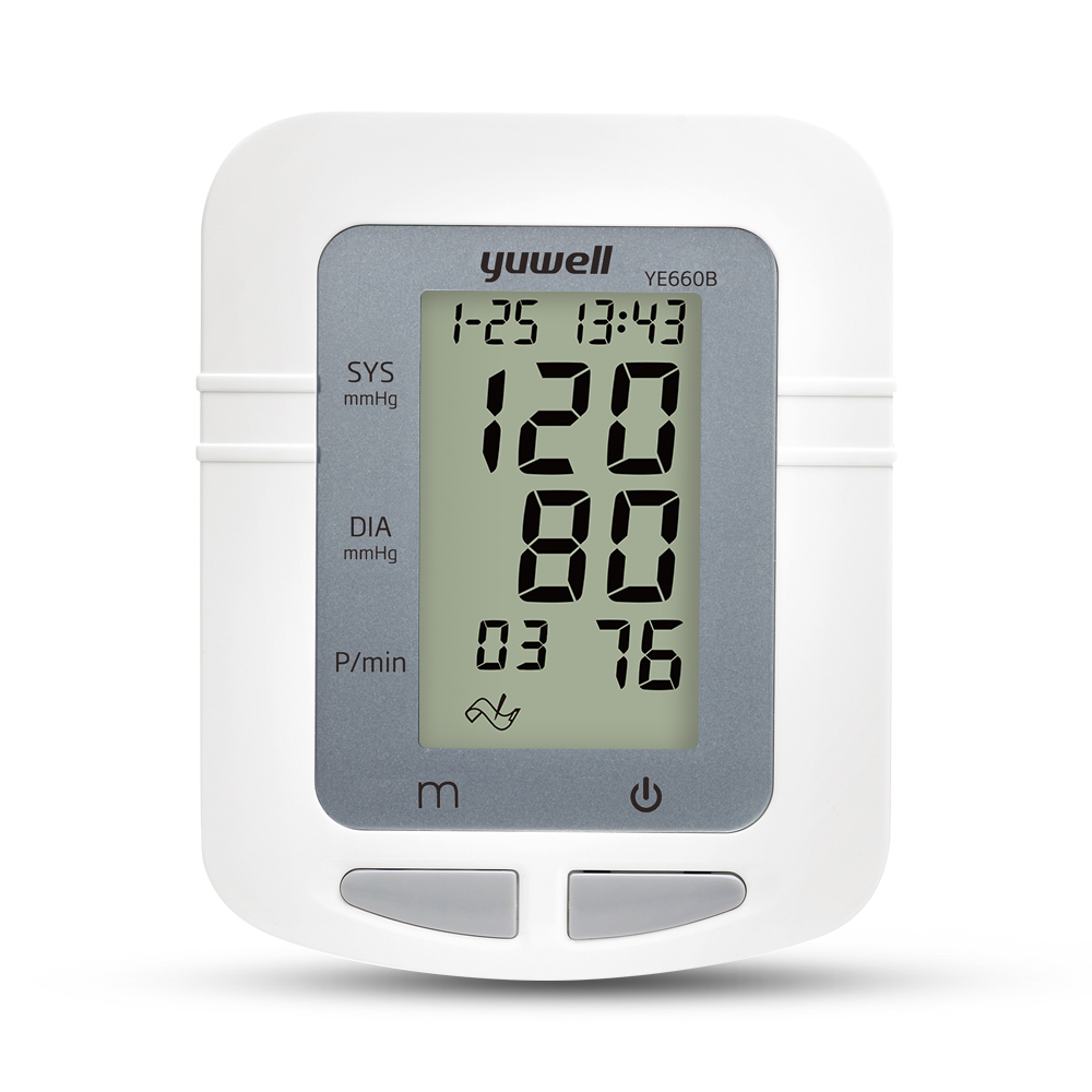Image 2 - Yuwell 660B Arm Blood Pressure Monitor Large LCD Cuff Medical Nurse Device Sphygmomanometer Blood Pressure Home Health Dector-in Blood Pressure from Beauty & Health