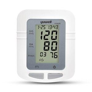 Image 2 - Yuwell 660BอัตโนมัติแบบดิจิตอลLCDขนาดใหญ่ข้อมือSphygmomanometerวัดความดันTonometer