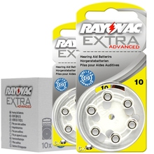 60 PCS Rayovac Extra Performance Hearing Aid Batteries. Zinc Air 10/A10/PR70 Battery for BTE/RIC sound amplifier Hearing aids performance of ric hearing aids in sloping sn hearing loss
